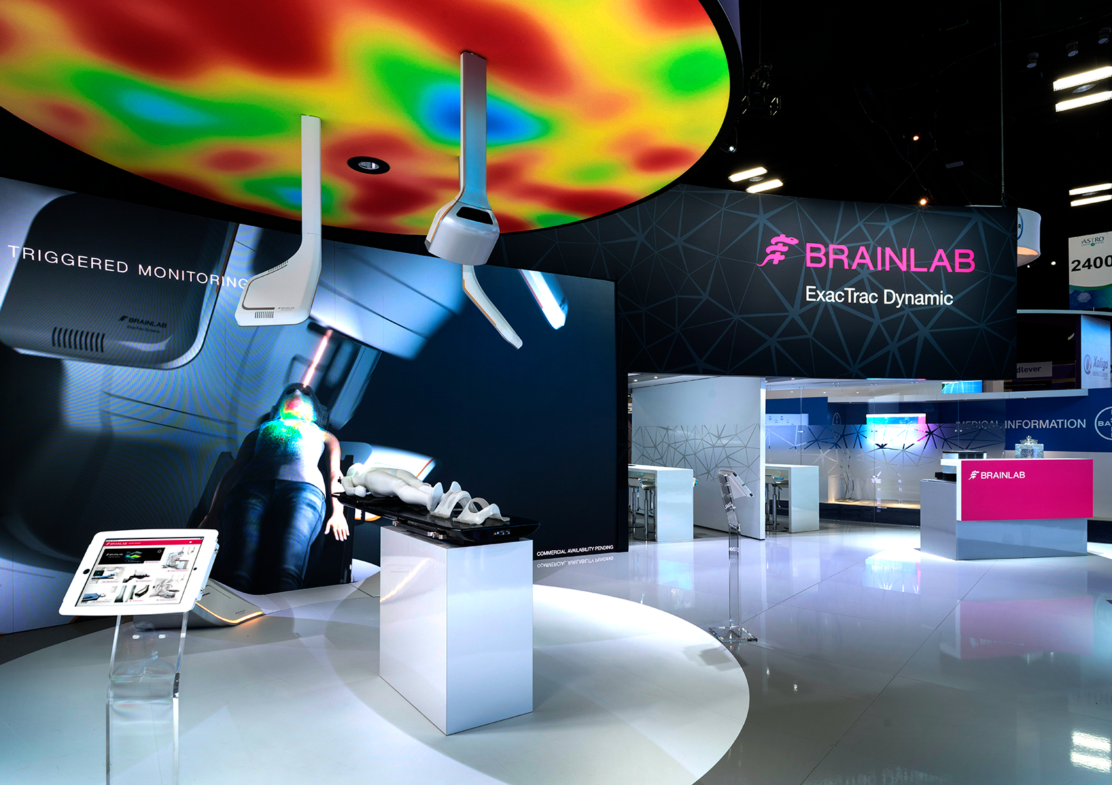 Brainlab Astro Exhibit